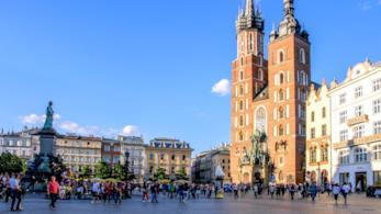 La città vecchia di Cracovia