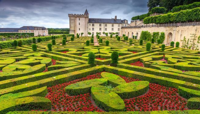 I Giardini più belli d'Europa, Giardini del Castello di Villandry, valle della Loira, Francia