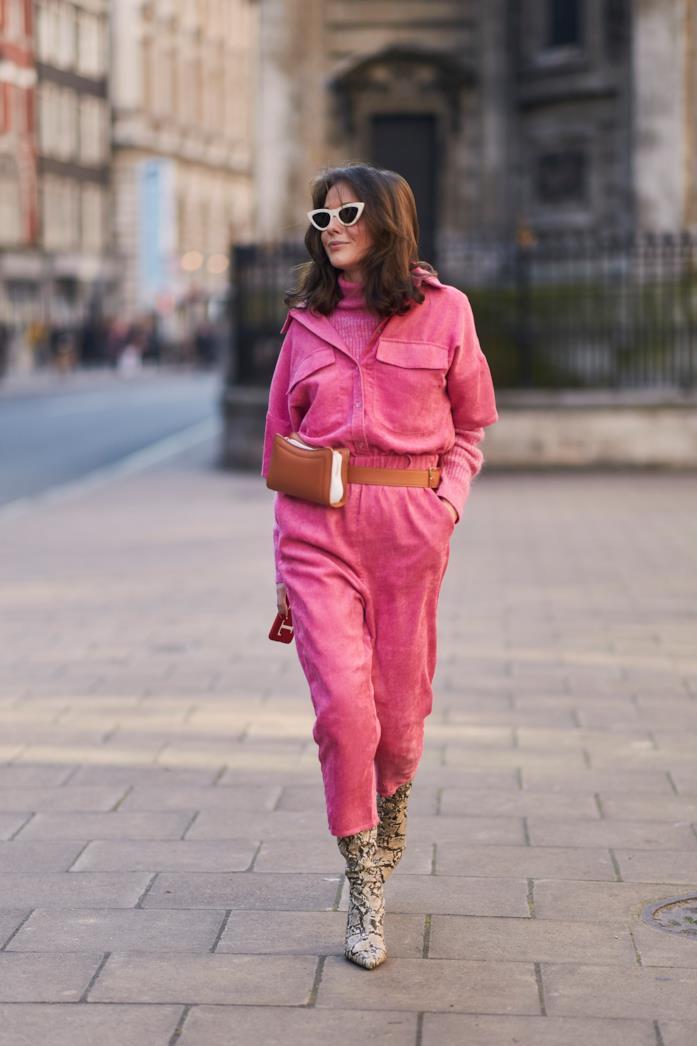 Street wear London Fashion Week total look