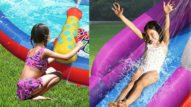 Quale piscina gonfiabile con scivolo per bambini acquistare