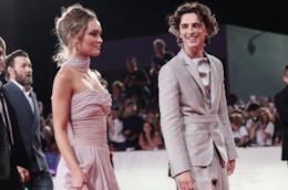 Lily-Rose Depp e Timothée Chalamet