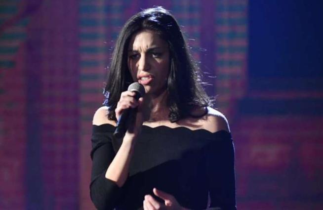 L'esibizione di Giulia Casieri a Sanremo 2018