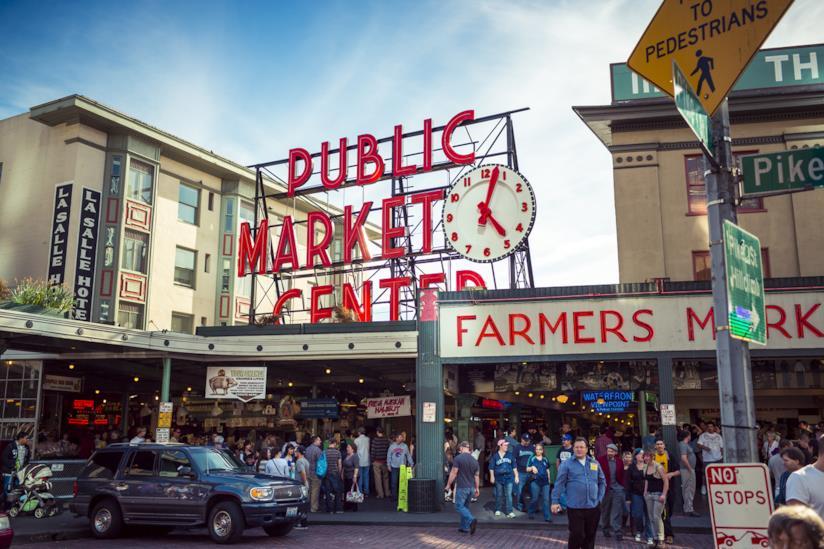 Il mercato più celebre di Seattle