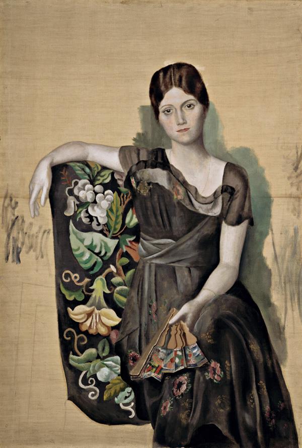 Ritratto di Olga in poltrona