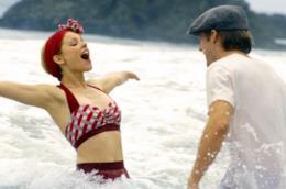 Allie e Noah al mare insieme