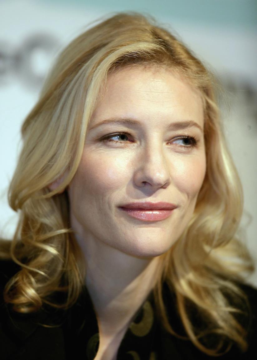 Cate Blanchett e taglio biondo mosso