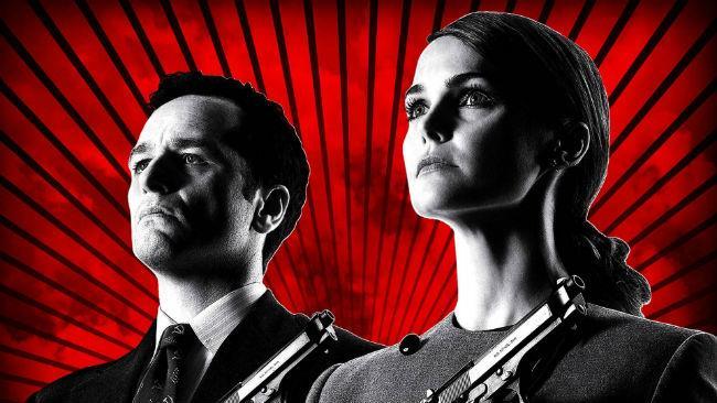 Keri Russel e Matthew Rhys in The Americans