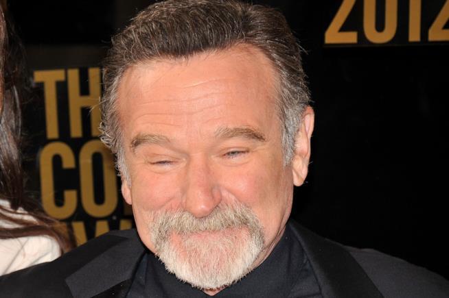 L'attore Robin Williams, morto nel 2014.