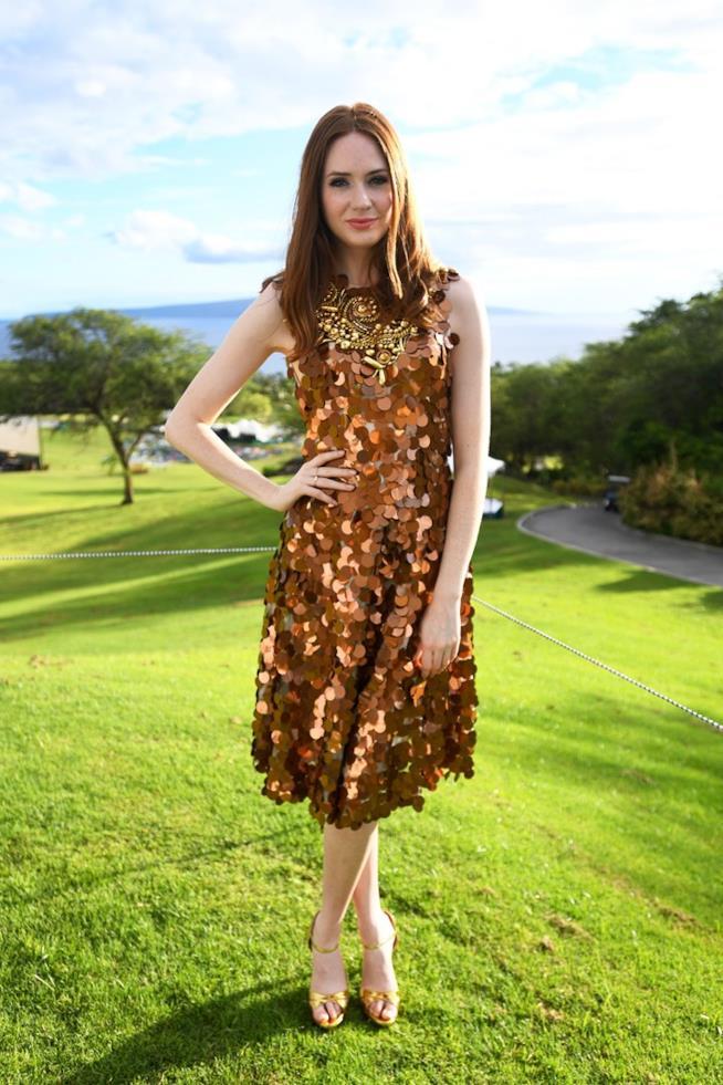 Karen Gillan al Maui Film Festival 2017