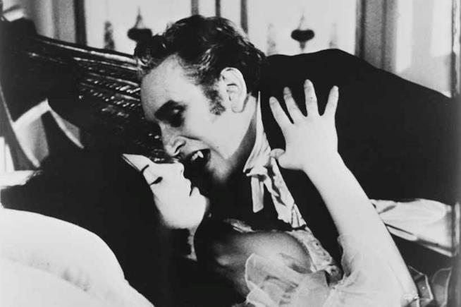 Un'immagine tradizionale di Dracula