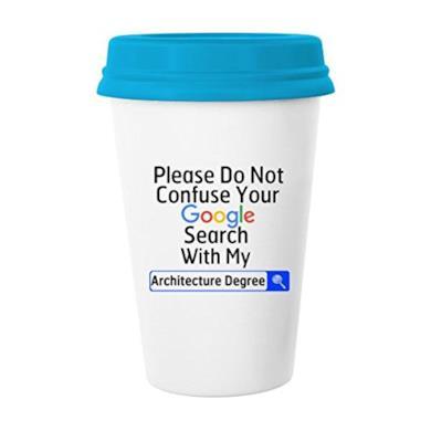 tazza in ceramica con coperchio tazza