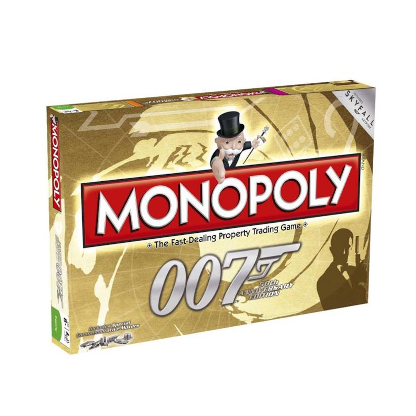 Monopoly James Bond 007 50th anniversary