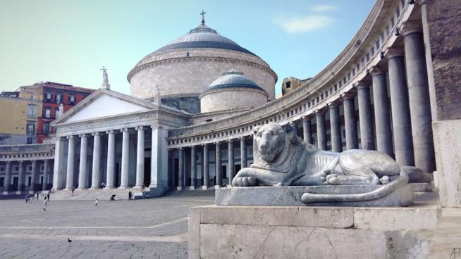 Piazza Plebiscito di Napoli