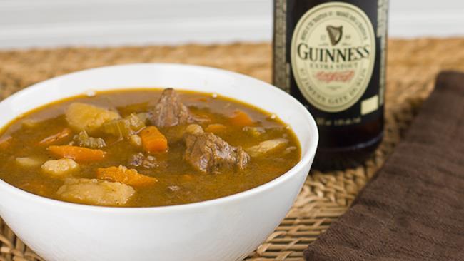 Stufato di manzo alla Guinness: Festa di San Patrizio