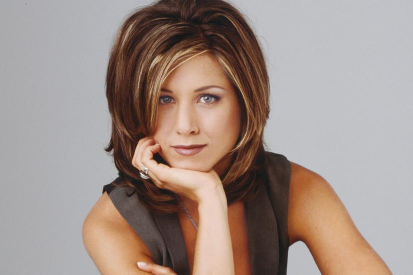 Jennifer Aniston nei panni di Rachel di Friends