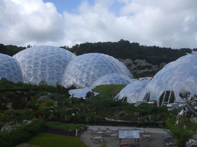I Giardini più belli d'Europa, Eden Project, Cornovaglia, Regno Unito