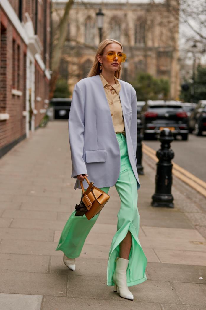 Streetwear London Fashion Week Blazer over
