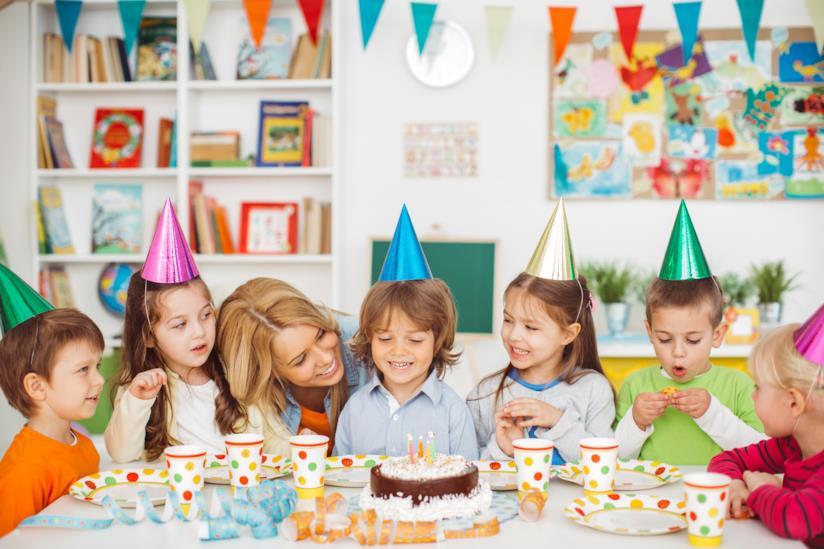 Una festa di compleanno in casa