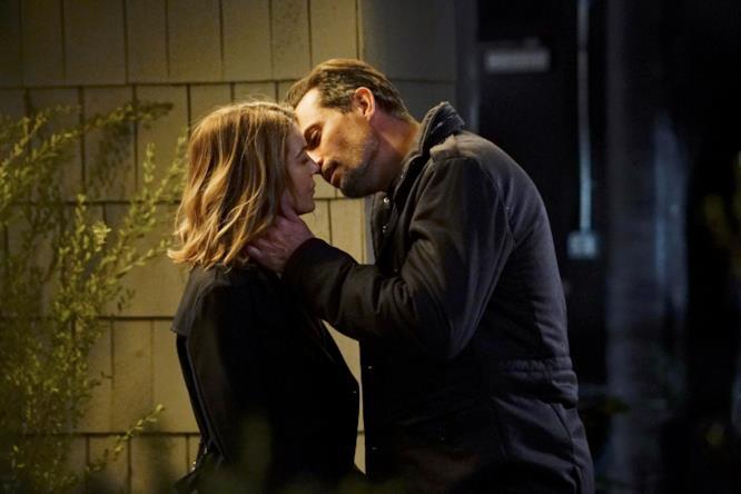 Il primo bacio tra Meredith e Will
