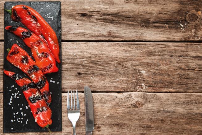 Peperoni grigliati
