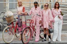 Il rosa indossato allo Street Fashion di Copenaghen