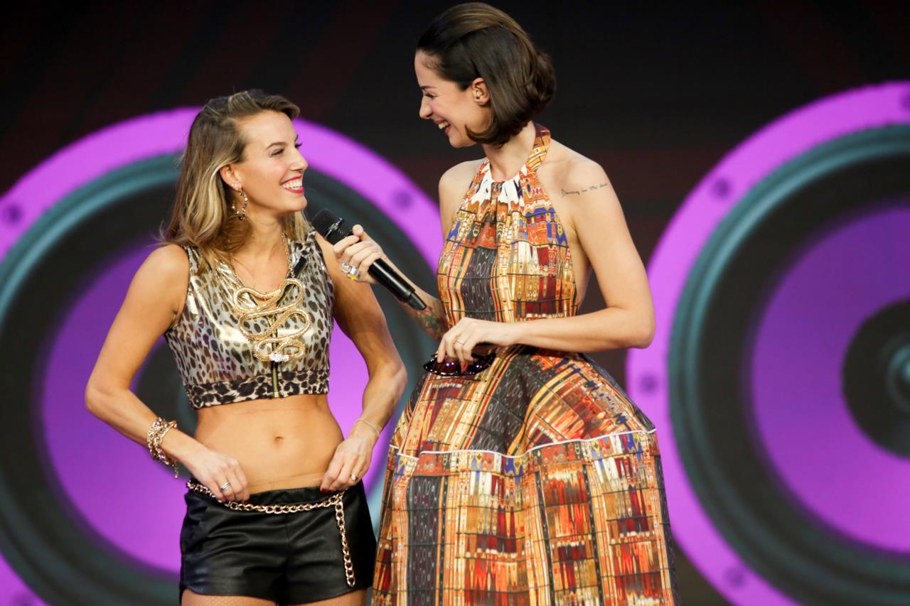 Tania Cagnotto e Andrea Delogu