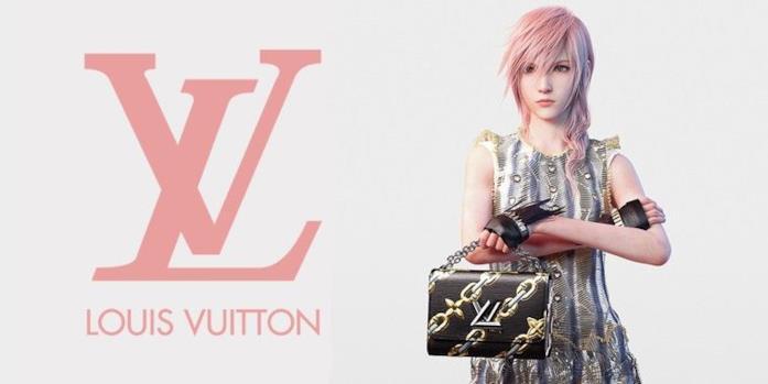Ad Louis Vuitton x Final Fantasy
