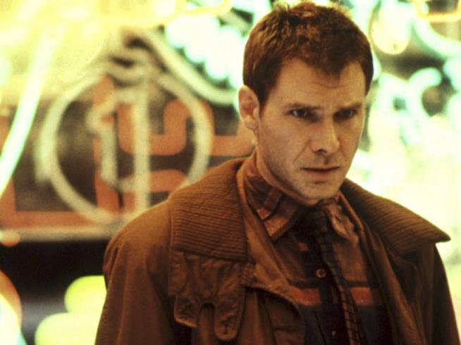 Harrison Ford in una scena di Blade Runner