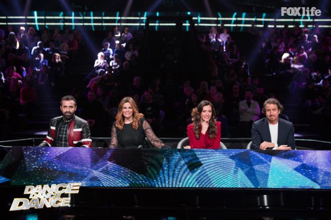 I giudici di Dance Dance Dance 2 durante la quinta puntata