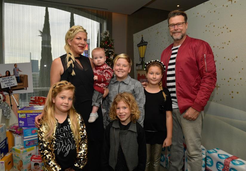 Dean McDermott, Tori Spelling e i loro cinque figli