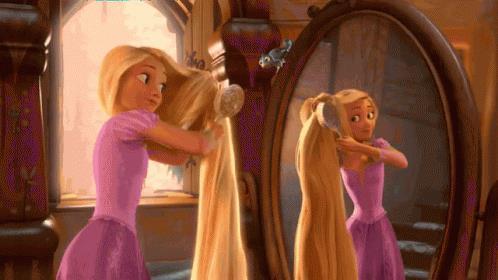 I lunghi capelli di Rapunzel