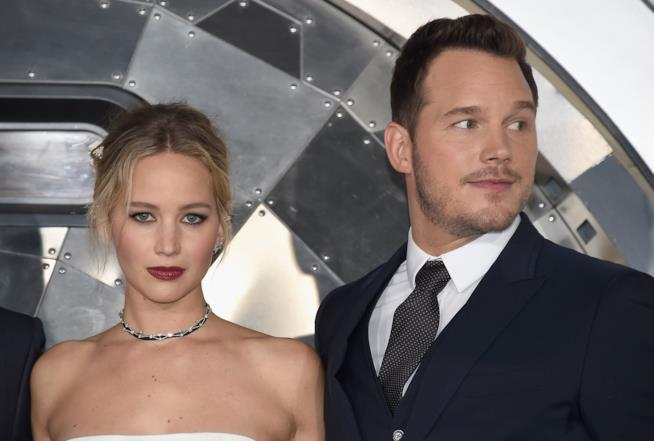 Jennifer Lawrence e Chris Pratt