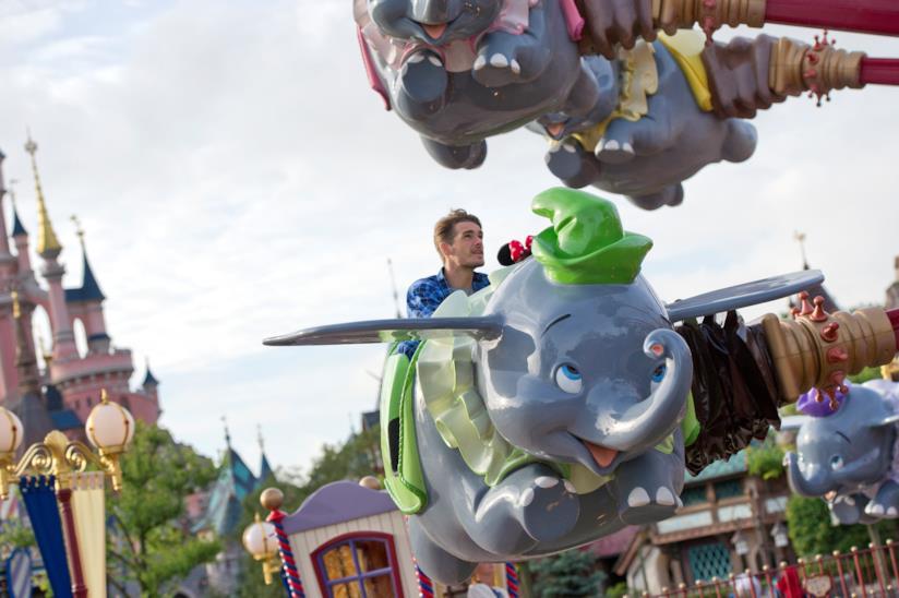 Attrazione di Dumbo a Disneyland Paris