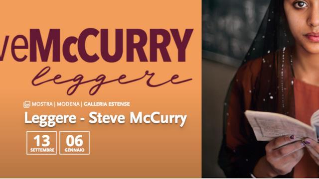 Steve McCurry in mostra a Modena con una serie di scatti sulla lettura