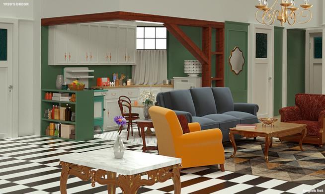 Appartamento di Monica anni Venti