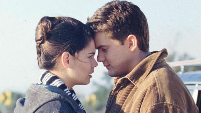 Katie Holmes e Joshua Jackson in Dawson's Creek