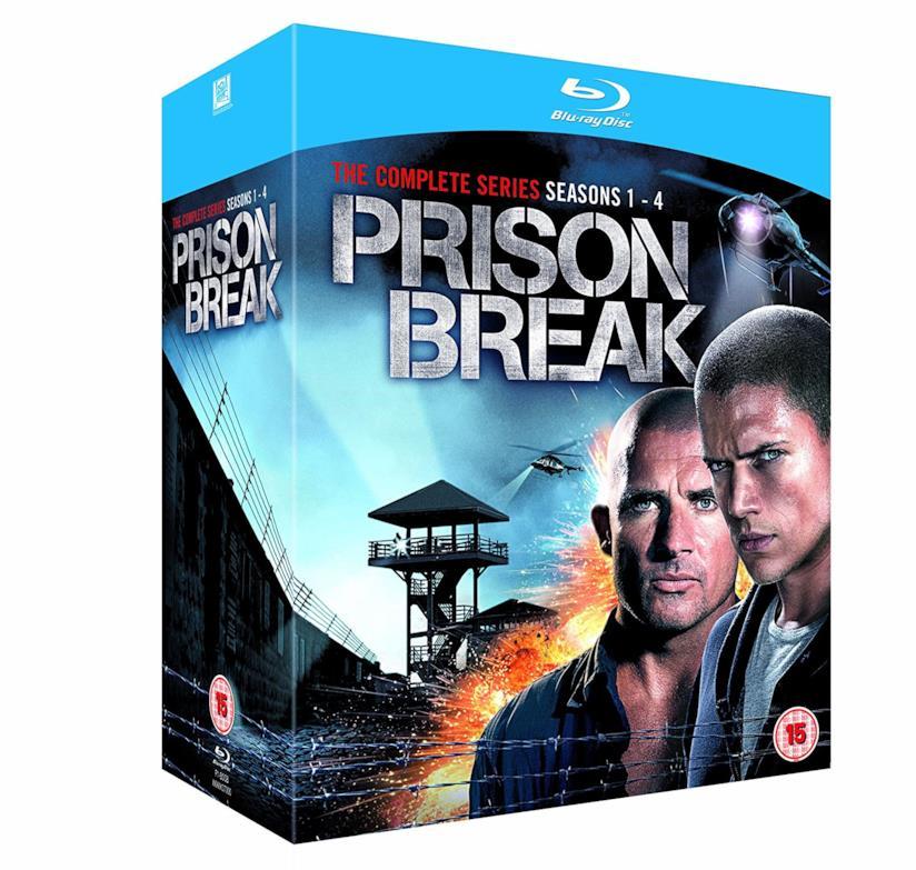 Cofanetto Blu-ray di Prison Break - Seasons 1-4