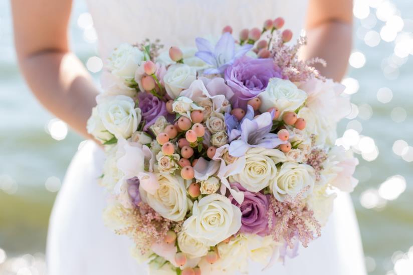 Bouquet con composizione mista