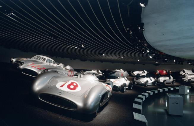 sala delle collezioni - Silver Arrows – Races & Records