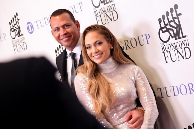 Jennifer Lopez e Alex Rodriguez
