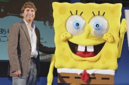 Stephen Hillenburg con SpongeBob