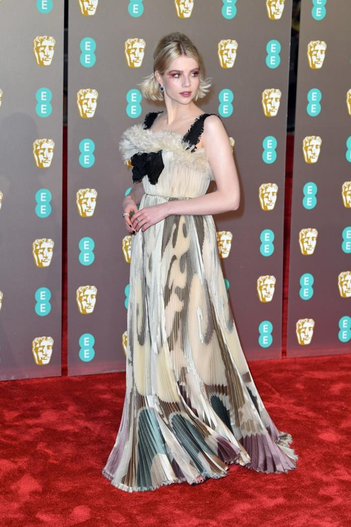 Lucy Boynton ai BAFTA