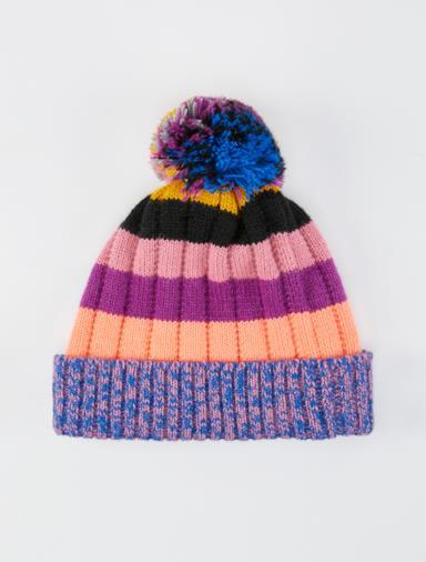 Berretto multicolore