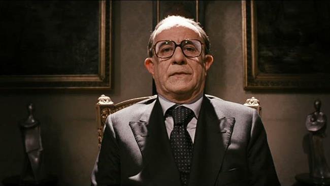Toni Servillo protagonista del film Il Divo
