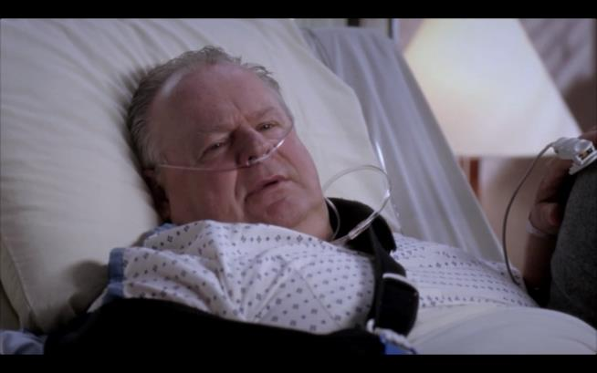Harold O'Malley, a letto