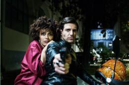 Serena Rossi e Giampaolo Morelli in Ammore e malavita