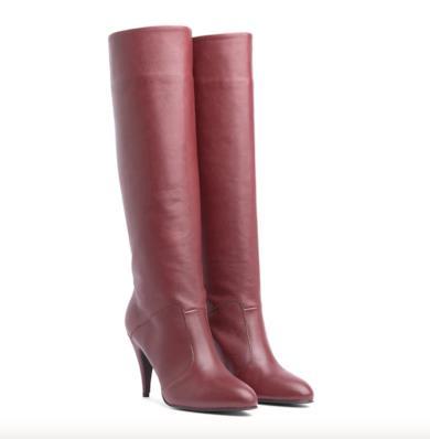 Stivali con tacco Zendaya