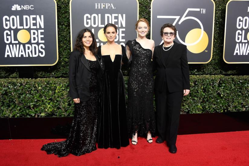 Natalie Portman ai Golden Globe Awards