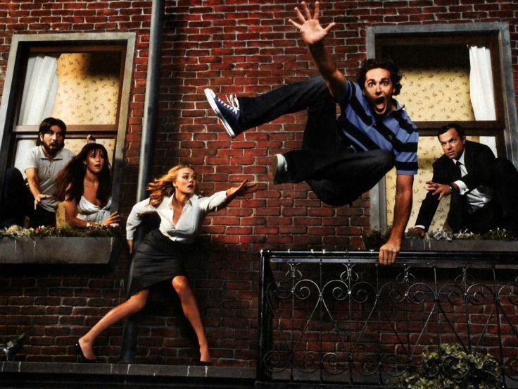 Gli attori della serie TV Chuck