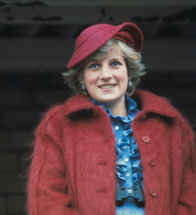 Lady Diana in primo piano